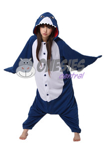 Blue Shark Onesie