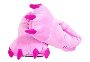 Animal Soft Plus Pink Slipper  Complete your onesies collection by purchasing the animal soft plus slipper to keep your feet warm in the winter season.