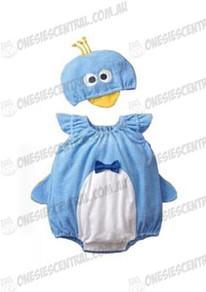 Baby Blue Penguin Onesie