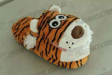 Tiger Animal Airbag Slipper