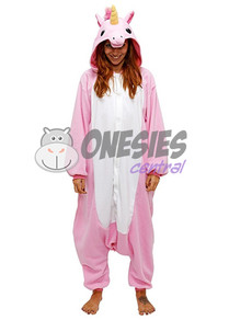 Royal Pink Unicorn Onesie