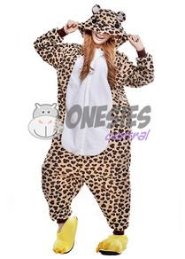 Leopard Bear Onesie