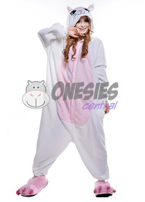 White Cat Onesie