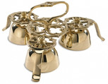 Bells for church use, made of solid brass.