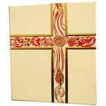 White/Gold Liturgical Binder
