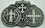 St. Benedict Visor Clip, Protection for your travel.