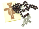 St. Francis of Assisi Rosary with San Damiano Crucifix