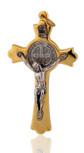 Beautiful St. Benedict Cross (Gold-Tone)