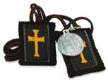 "Authentic Catholic Scapular - 100% Wool (Crusader 30"")"