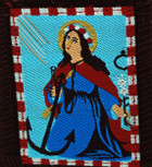 Authentic Catholic Scapular - 100% Wool (Saint Philomena Brown Cord)