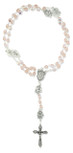Immaculate Conception Catholic Rosary with Glass Beads (Pink)