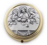 Catholic Holy Communion Pyx (Last Supper)