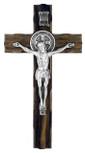 "Wood Saint Benedict Cross, 7.5"" x 4"""