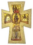 "Small Byzantine Wall Cross (5.5"" x 4"")"
