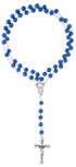 Glass Bead Catholic Rosary by Vatican Imports