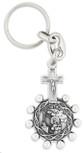 One Decade Rosary Key Chain (Saint Teresa / Saint Rita)