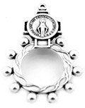 Indestructible Catholic Rosary Ring - Pack of 5