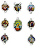 Our Lady of Sorrows Rosary Medals - Complete Set!