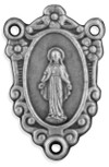Ornate Miraculous Medal Rosary Center