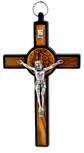 """Deluxe Saint Benedict Wall Cross, 5"""" x 3"""""""