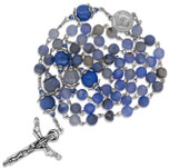 *FREE* Ornate Rosary with Artisanal Glass Beads and Holy Trinity Cross