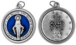 "1 1/4"" Catholic Saint Medal with Polished Trim"