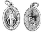 Small Catholic Saint Medal - Bulk Pack of 10