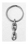 Durable Catholic Key Chain with Saint Medal Fob