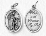 Saint Francis of Assisi Pet Medal by Venerare