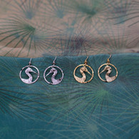 Wild Bryde Crane Silhouette Earrings