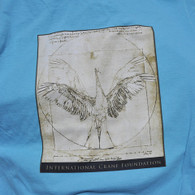 da Vinci Crane T-shirt  Short Sleeve Tropical Blue
