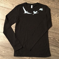 Cranes flying t-shirt