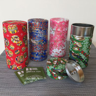 Origami Tea Canister