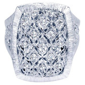 Gabriel&Co. Ladies' Ring Collection:Madison Style:Fashion Diamond Total:0.27ct Metal Type:925 Silver