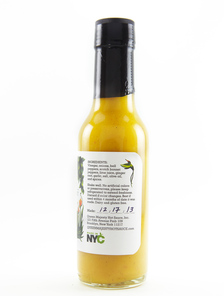 Queen Majesty - Scotch Bonnet Ginger Hot Sauce - Side R