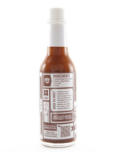 Adoboloco Hot Sauce - Hamajang Kiawe Smoked Ghost Pepper - Side