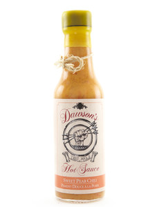Dawson's Hot Sauce - Sweet Pear Chili - Front