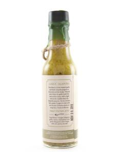 Dawson's Hot Sauce - Garlic Jalapeno - Side
