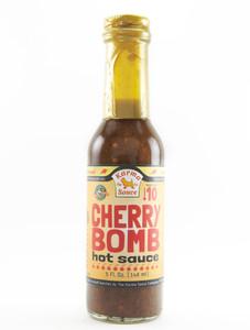 Karma Sauce - Cherry Bomb Hot Sauce - Front