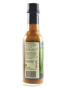 Lucky Dog Hot Sauce - Green Label - Side