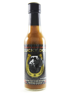 Lucky Dog Hot Sauce - Black Label - Front