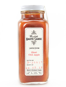 Marshall's Haute Sauce - Ghost Chili Apple - Front