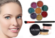 gift deal 8 stacks eye shadows with foundation mf1