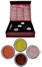 Shine Bright - Coral Glitter Kit