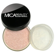 Mica Beauty Loose Powder Mineral Face & Body Bronzer FB-6 Rosy Pink