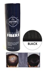 Piz-zaz  All Natural Organic Keratin Protein Hair Fibers | Instant Hair Thickening System - Black