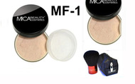 Lot 3 Items: 2x Mica Beauty Foundation Mf-1 Porcelain +Itay Mineral  Premium Kabuki Brush