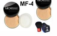 Lot 3 Items: 2x Mica Beauty Foundation Mf-4 Honey  +Itay Mineral  Premium Kabuki Brush