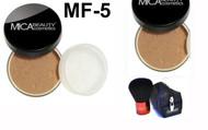 Lot 3 Items: 2x Mica Beauty Foundation Mf-5 Cappuccino  +Itay Mineral  Premium Kabuki Brush