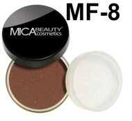 Lot 3 Items: 2x Mica Beauty Foundation Mf-8 +Itay Mineral  Premium Kabuki Brush